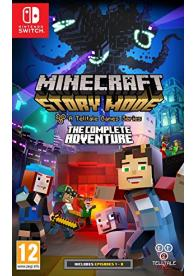 Switch Minecraft Story Mode: The Complete Adventure