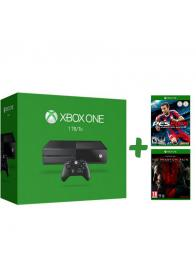 XBOXONE Console 1TB + PES 2015 + Metal Gear Solid 5 Phantom Pain