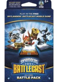 Skylanders Battlecast Battlepack B (Trigger Happy, Hex, Smash Hit) - 22 cards