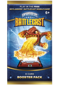 Skylanders Battlecast Booster Pack Foil - 8 cards