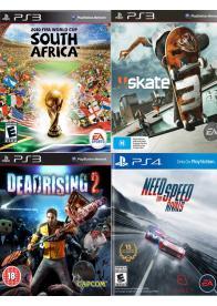 PS3 KORISĆENE IGRE 4in1- PAK 1 - GamesGuru