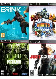 PS3 KORISĆENE IGRE 4IN1- PAK 3 - GamesGuru