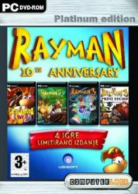 GamesGuru.rs - Rayman 10th Anniversary Platinum Edition - Pakovanje igrica za PC