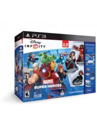 Infinity 2.0 Marvel SH Starter Pack (Iron Man+Thor+Black Widow+Game+Playset Piece+Toybox Discs) - PS3