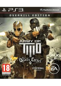 GamesGuru-Army of Two:Devil's Cartel Overkill edition-Originalna igra za PS3