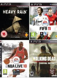 PS3 KORISĆENE IGRE 4IN1- PAK 6 -GamesGuru