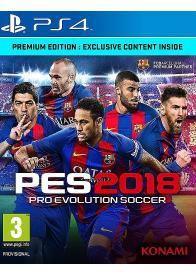 PS4 PES 2018 Pro Evolution Soccer 2018  - gamesguru