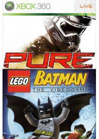 XBOX 360 PURE+LEGO BATMAN -KORIŠĆEN