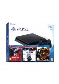 PlayStation PS4 SLIM 500GB KONZOLA + 3 IGRE - GamesGuru