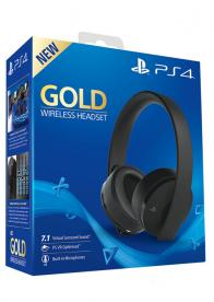 Slušalice PS4 Wireless Headset Gold - GamesGuru