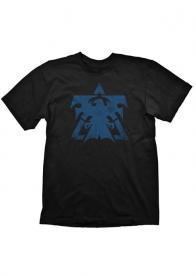Majica Starcraft 2 Terran Logo Vintage, Size L - GamesGuru