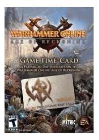 GamesGuru.rs - Warhammer Online: Age of Reckoning Prepaid Card