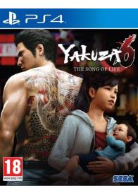 PS4 YAKUZA 6 SONG OF LIFE - LAUNCH EDITION- GAMESGURU