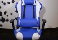 Gaming Chair e-Sport DS-059 BlueWhite (PU,PVC)