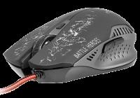 TRACER gejmerski miš Battle Heroes Gunner (Crni) - TRAMYS44229