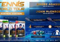 XBOX ONE TENNIS WORLD TOUR LEGENDS EDITION - GAMESGURU