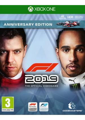XBOX ONE F1 2019 - Anniversary Edition - GamesGuru