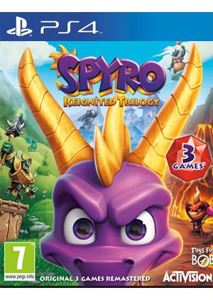 PS4 SPYRO TRILOGY REIGNITED - GamesGuru
