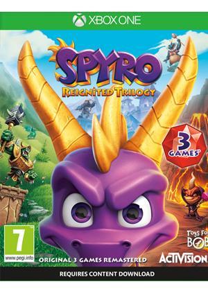 XBOX ONE SPYRO TRILOGY REIGNITED - GamesGuru