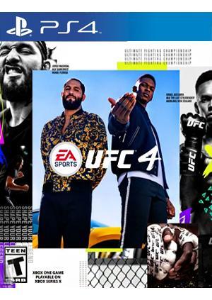 PS4 UFC 4 - GamesGuru