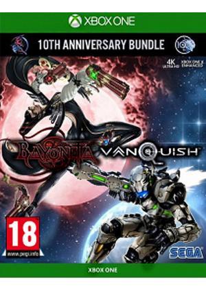 XBOX ONE Bayonetta & Vanquish 10th Anniversary Bundle - GamesGuru