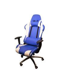 Gaming Chair e-Sport DS-059 BlueWhite (PU,PVC)