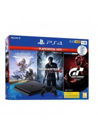 PlayStation PS4 1TB + 3 igra ( Horizon. Uncharted4, GrandTurismo) - GamesGuru