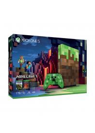 XBOXONE S Console 1TB Minecraft Limited Edition - GamesGuru