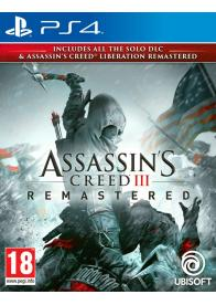 PS4 Assassin's Creed 3 Remastered & Liberation Remastered - Gamesguru