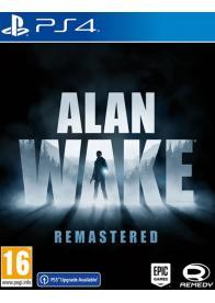 PS4 Alan Wake Remastered - Gamesguru