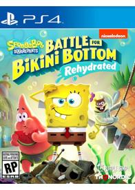 PS4 Spongebob SquarePants: Battle for Bikini Bottom - Rehydrated - GamesGuru