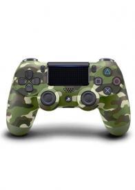 DualShock 4 Wireless Controller PS4 Green Camouflage - Gamesguru