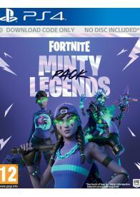 PS4 Fortnite: Minty Legends Pack - Gamesguru