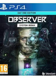 PS4 Observer: System Redux - Day One Edition - Gamesguru