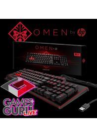 HP Gejmerska tastatura OMEN 1100 G-live akcija - GamesGuru Live