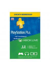 Digitalne pretplata za XBOX LIVE i PLAYSTATION PLUS - GamesGuru