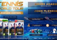 PS4 TENNIS WORLD TOUR LEGENDS EDITION - GAMESGURU